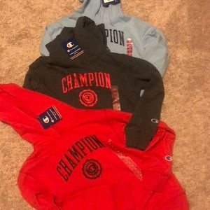Champion Size 7 /8 Hoodies a set of 3 NWT
